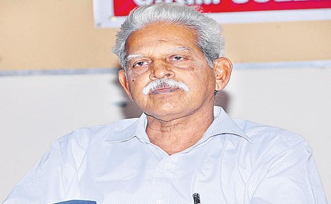 Activist Varavara Rao To Be Shifted To Mumbai's Nanavati Hospital - Sakshi