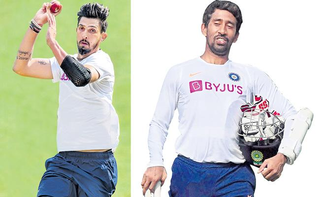 Ishant Sharma aims to be fit for India Test series in Australia - Sakshi