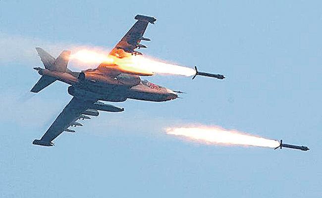 Terrorist bases destroyed in POK - Sakshi