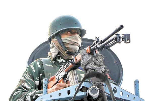 Nagrota encounter jammu kashmir terrorists killed toll plaza in Jammu Kashmir - Sakshi