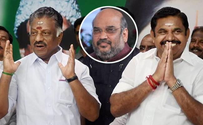 Alliances With BJP Will Continue For Assembly Elections Says AIADMK - Sakshi