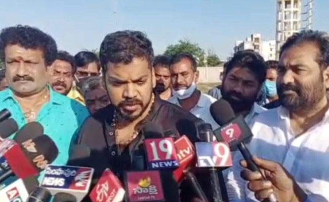 Minister Anil Kumar Yadav Fires On Chandrababu - Sakshi