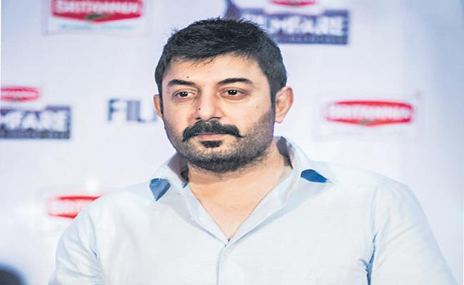 Arvind Swamy to play the villain role in Acharya - Sakshi