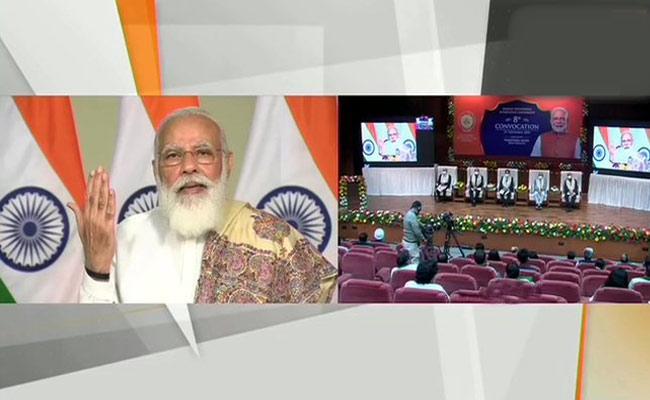 Sense Of Responsibility Should Be Turned To The Purpose Of Life Says Modi - Sakshi