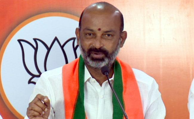 GHMC Elections 2020: Bandi Sanjay Comments On TRS - Sakshi