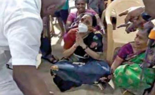 DMK MLAs Suicide Attempt: Currently In ICU - Sakshi