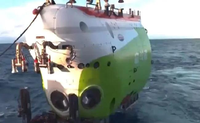 China Sends Vessel Into Earth Deepest Ocean Trench With 3 Men On Board - Sakshi