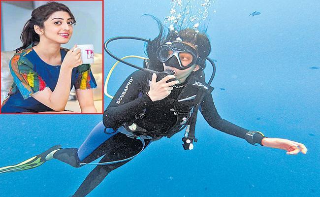 Pranitha Subash gets scuba certified in Maldives - Sakshi