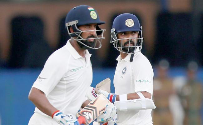 Pujara Rahane Take Charge To Test Series Aginest Austrelia Says Gavasker - Sakshi