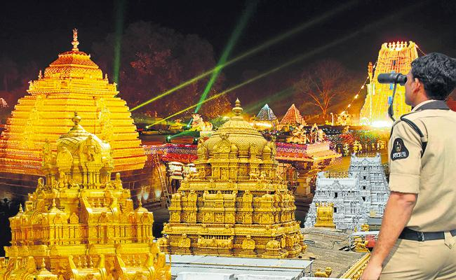 Police Protection For Temples - Sakshi