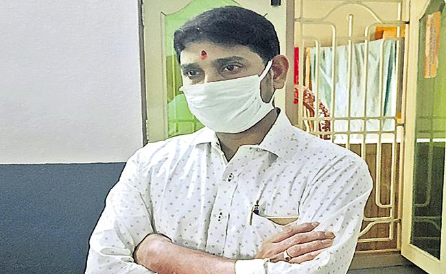 Gabriel Hospital Administrator Fraud In Narasapuram - Sakshi