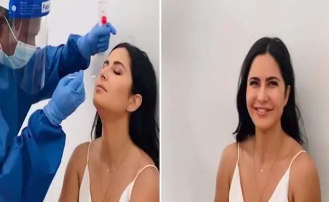 Katrina Kaif Undertake Corona Test Before Going To Sets - Sakshi