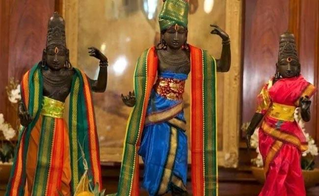 Tamil Nadu: Ancient Temple Recovers Stolen Idols After 42 Years - Sakshi