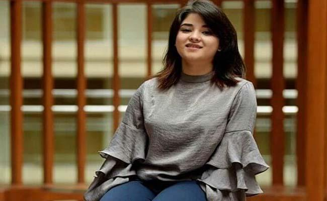 Zaira Wasim Request To Her Fans: Please Remove All My Photos - Sakshi