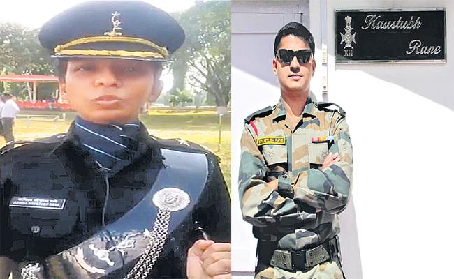 Sakshi Family Story About Kanika Rane Completed Army Officer Training