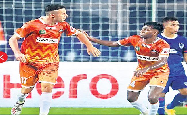 FC Goa takes on Bengaluru FC - Sakshi