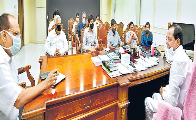 CM KCR Said Necessary Action To Protect Telugu Film Industry - Sakshi