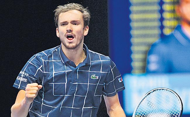 Daniil Medvedev beats Dominic Thiem to win ATP Tour Finals - Sakshi