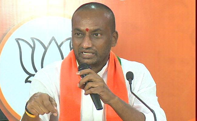 MLA  Raghunandhan Rao Comments On KTR - Sakshi