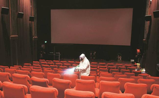 Telangana Government Give Permission To Reopen Cinema Theaters - Sakshi