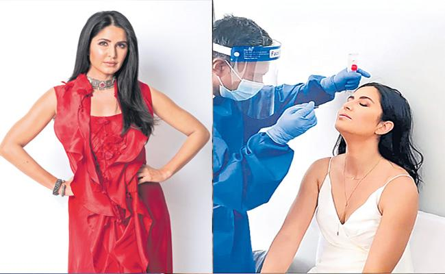 Actress Katrina Kaif COVID 19 Test Before The Shoot - Sakshi