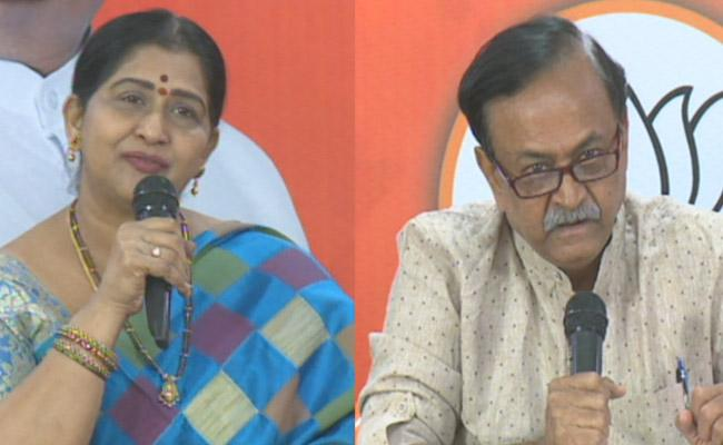 GHMC Elections 2020 Cini Actors Press Meet At BJP State Office - Sakshi