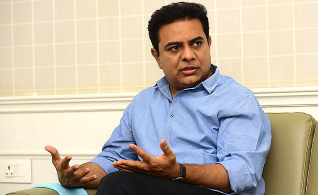 GHMC Elections 2020: KTR Special Interview With Sakshi