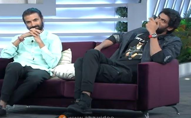 Rana Daggubati Gets Emotional While Telling Health Issue In Sam Jam Show - Sakshi