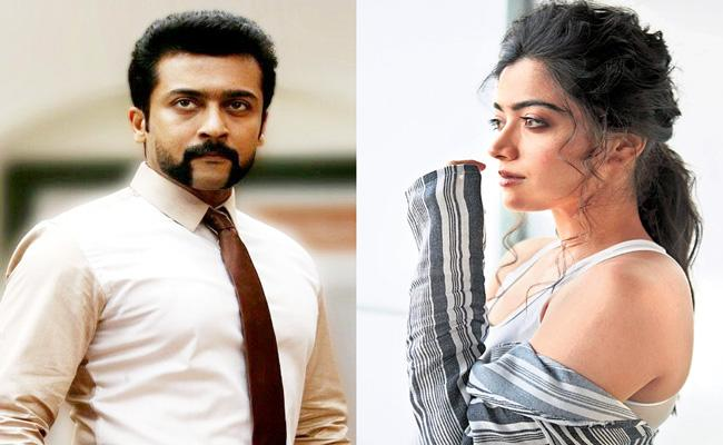 Rashmika Mandanna to star opposite Suriya in director Pandiraj - Sakshi