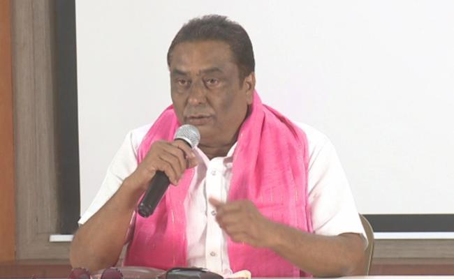 GHMC Elections 2020 Actor Kadambari Kiran Supports KCR - Sakshi