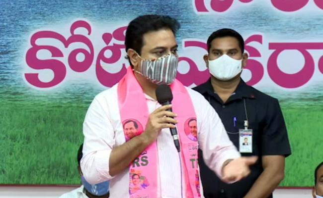GHMC Elections 2020: Minister KTR Comments On BJP Leaders - Sakshi