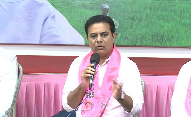 GHMC Elections 2020 : KTR Counter ON BJP Chargesheet - Sakshi