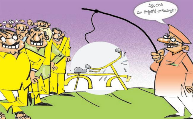 Tirupati: BJP Leaders Trying To Recruit TDP Leaders Into The Party - Sakshi
