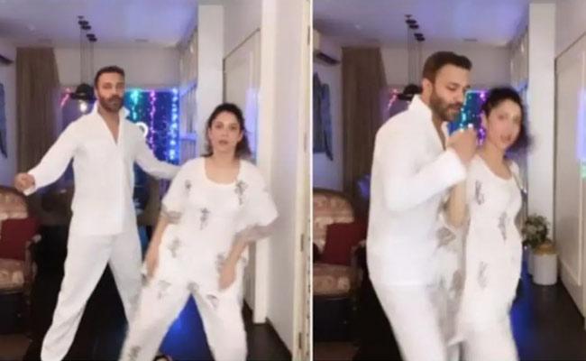 Ankita Lokhande And Her Boyfriend Vicky Jain Dance Video - Sakshi