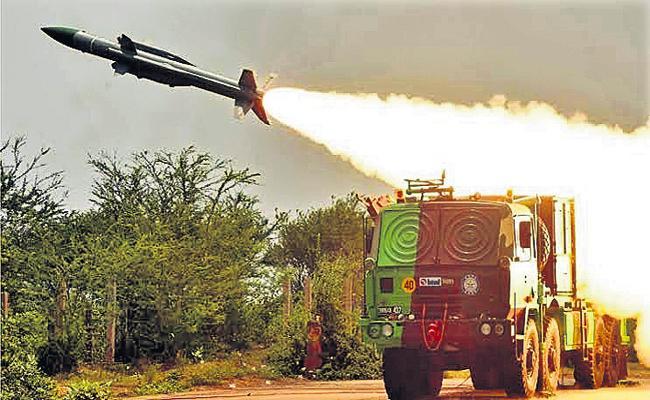 Missile Firing On Suryalanka Coast From 24th November - Sakshi