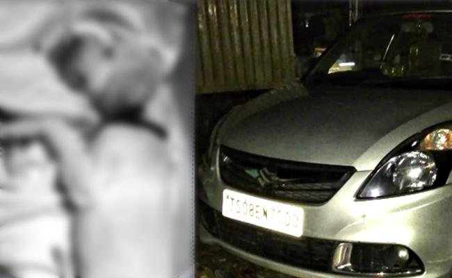 Dog Deceased Under Car Accident At Hayat Nagar - Sakshi