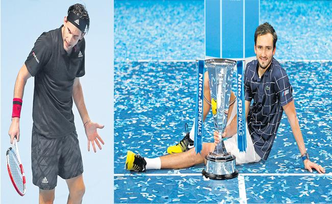 Daniil Medvedev beats Dominic Thiem to win ATP Finals title - Sakshi