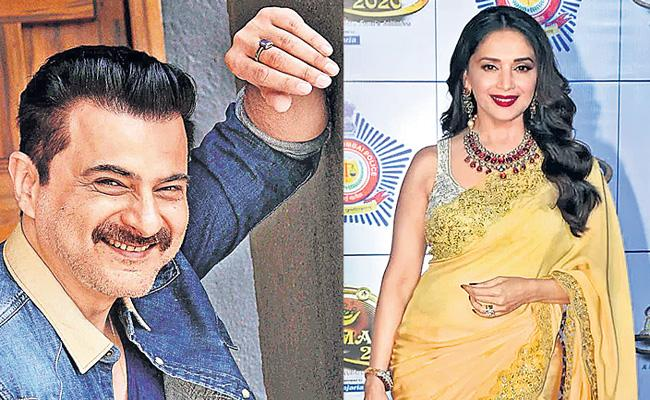 Sanjay Kapoor and Madhuri Dixit pair will After 23 years - Sakshi