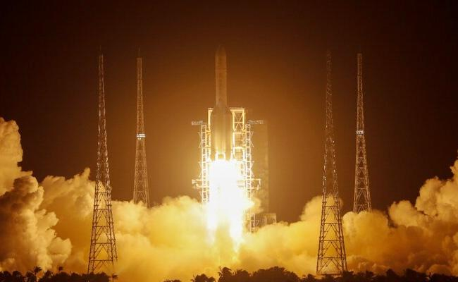 China Launches Change 5 Mission To Bring Samples From Moon - Sakshi