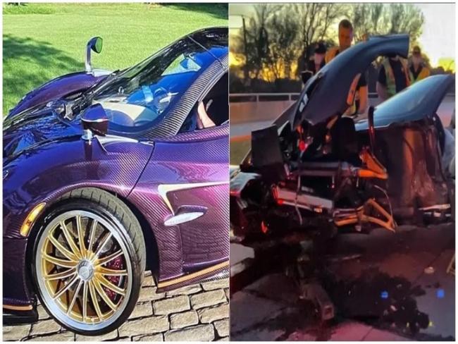 YouTuber Crashes Father Rs 25 Crore Pagani Huayra Car - Sakshi