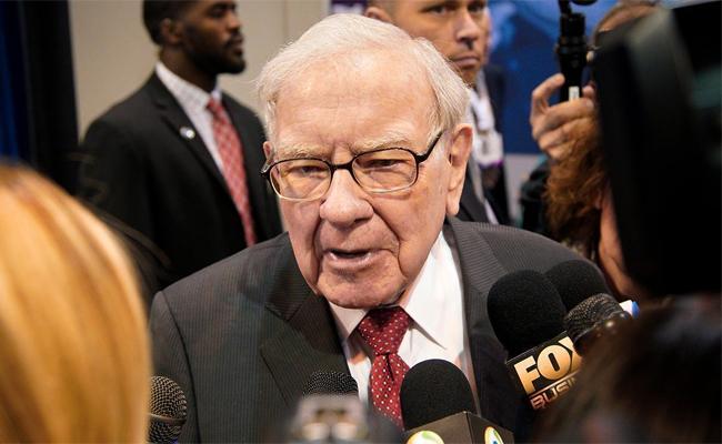 Warren Buffett company Berkshire buys pharma shares  - Sakshi