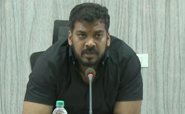 Nivar Cyclone Minister Anil Kumar Yadav Review Meeting With Officials - Sakshi