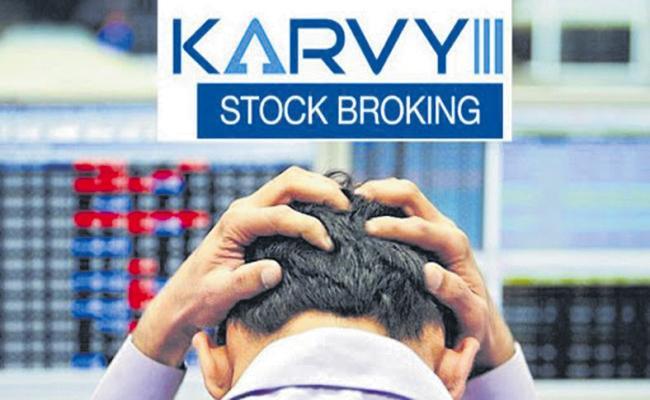 Karvy Stock Broking As Defaulter - Sakshi
