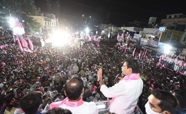GHMC Elections 2020 KTR Slams BJP and AIMIM Leaders - Sakshi
