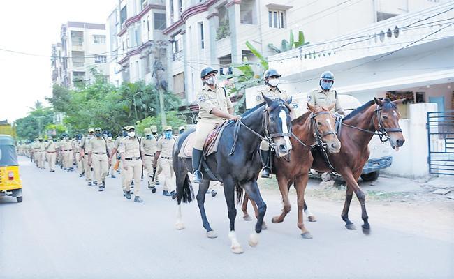 Rachakonda Commissionerate Create Record In 5 Km Flag March - Sakshi