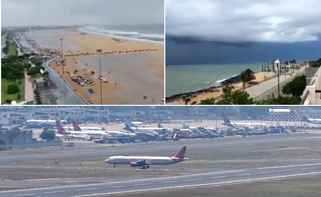 Nivar Cyclone: Swarnamukhi Barrage 3 gates Opened - Sakshi