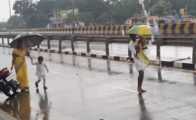 Nivar Cyclone Effect: Heavy Rains In Nellore District - Sakshi