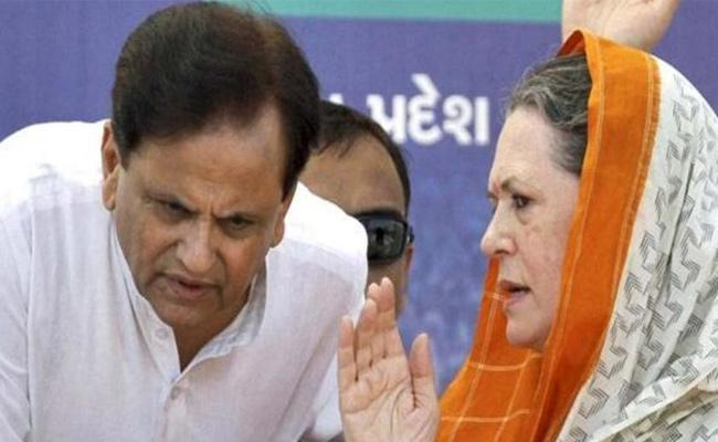 Sonia Gandhi Condolences On Ahmed Patel Demise Lost Faithful Friend - Sakshi