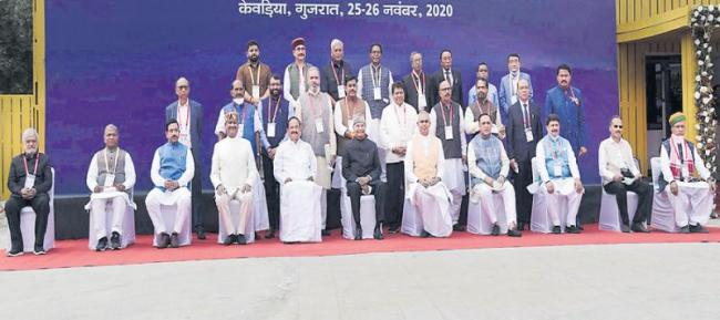 President Ramnath Kovind inaugurated the All India Presiding Officers Conference - Sakshi