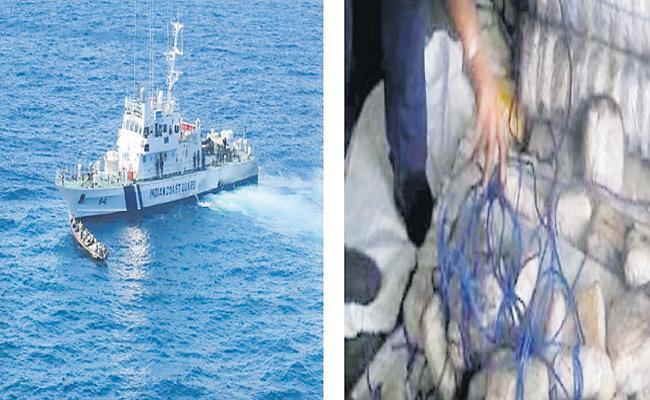 100kg heroin in empty fuel tank seized from Lankan boat - Sakshi